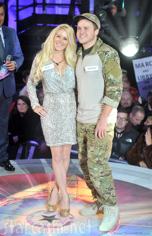 Heidi Montag and Spencer Pratt enter the Celebrity Big Brother house