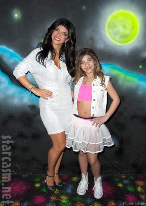 Teresa Giudice and daughter Gia Giudice celebrate Gia's 12th birthday