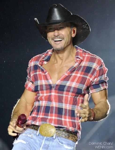 Tim McGraw in Concert