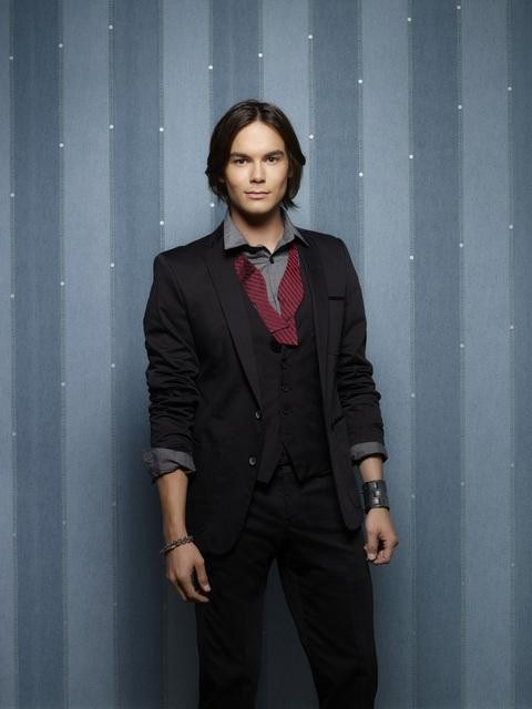 Tyler Blackburn as Caleb Rivers on Pretty Little Liars Season 3b