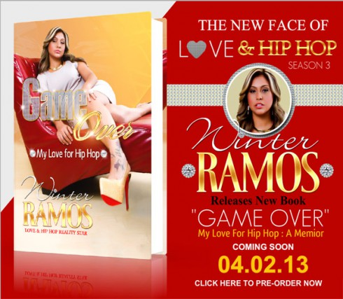 Where to buy Winter Ramos tell-all book Game Over