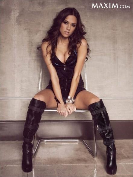 Jana Kramer Maxim sexy photo shoot