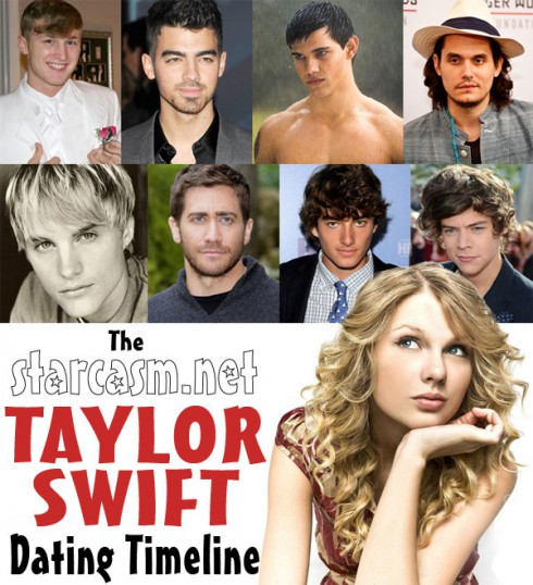 Who all has Taylor Swift dated? See the Taylor Swift dating timeline!