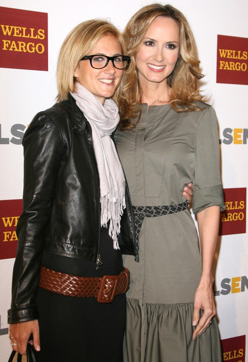 Chely Wright and partner Lauren Blitzer-Wright at the 8th Annual GLSEN Respect Awards held at the Beverly Hills Hotel