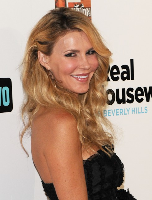 Brandi Glanville attends 'The Real Housewives of Beverly Hills Season 3' premiere at The Roosevelt Hotel - Arrivals Hollywood, California