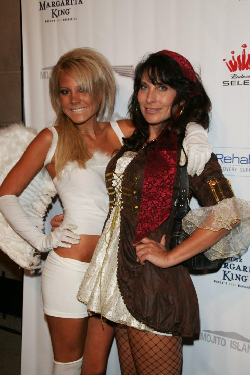 'Real Housewives of Orange County' stars Lindsey Knickerbocker and Tammy Knickerbocker Air Party's 4th annual 'Halloween celebrity charity event' held at Viabian Los Angeles, California - 28.10.07