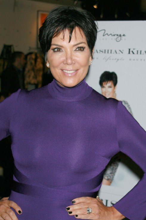 Kris Jenner makes an appearance at 'Kardashian Khaos' inside The Mirage Hotel & Casino Las Vegas, Nevada