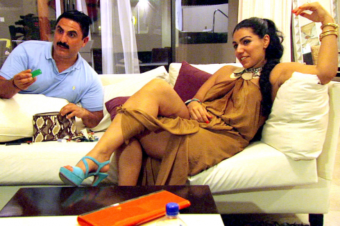 Reza and Asa on 'Shahs of Sunset' during trip to Mexico