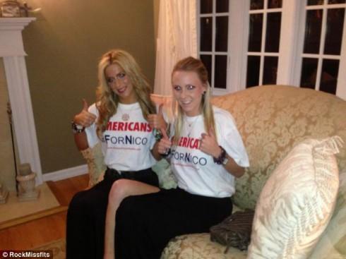 Ashley Ann Riggitano and best friend Victoria Van Thunen