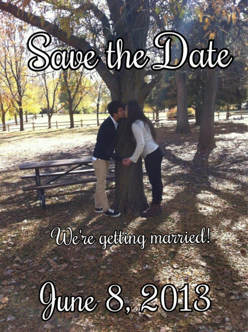 '16 & Pregnant' star Izabella Tovar and fiance Jairo Rodriguez's Save The Date card for upcoming wedding