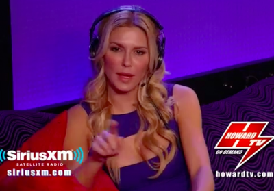 Brandi Glanville appears on the Howard Stern show on Sirius XM to promote Drinking and Tweeting