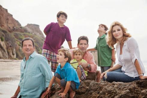 'LA Shrinks' star Dr. Venus Nicolino with father, husband, sons, and nephews