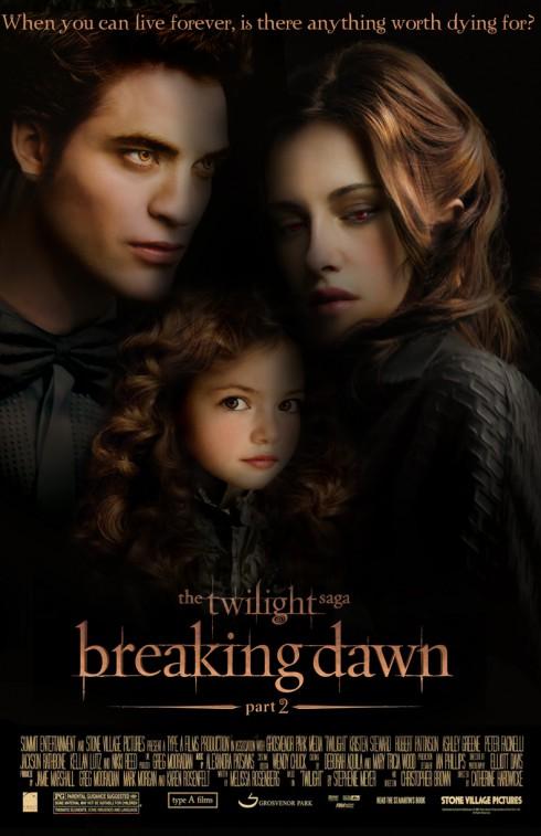 Breaking Dawn, Part II Poster