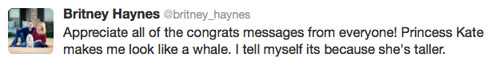 Britney-Haynes-pregnant-tweet