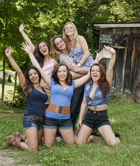 Girls of Buckwild Salwa Katie Ashley Anna Shae Cara