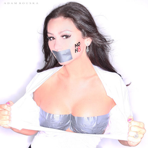 JWoww gets sexy for NOH8
