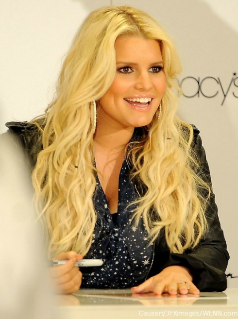 Jessica Simpson during second pregnancy