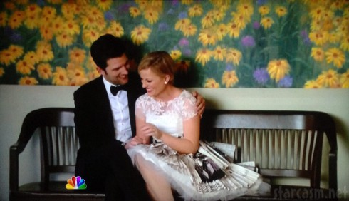 Parks and Recreation Leslie Knope and Ben Wyatt wedding