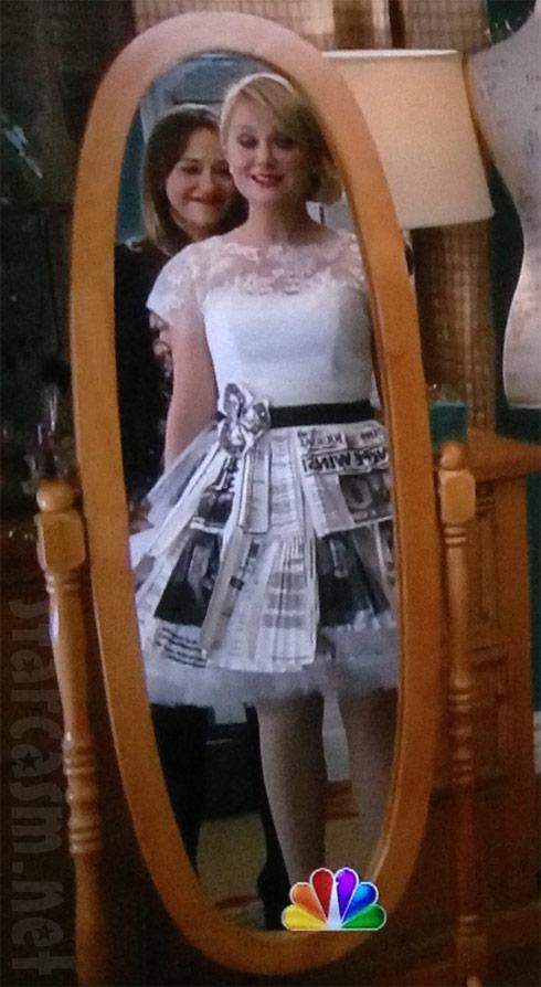 Leslie Knope wedding dress NBC
