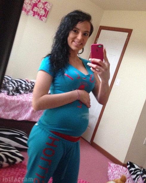 8 months preggo girl get anal - 3 part 4