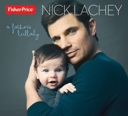 Nick Lachey A Father's Lullaby album cover with son Camden