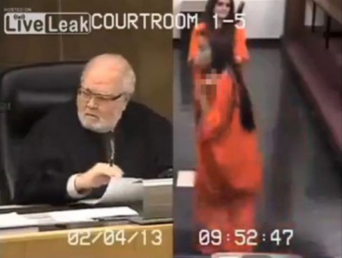 Miami teen Penelope Soto gives the judge the bird in sentencing video