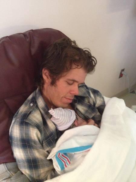 Perez Hilton and son photo