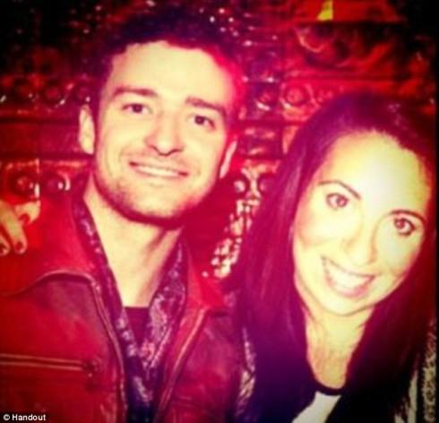 Shirley Hornstein with Justin Timberlake