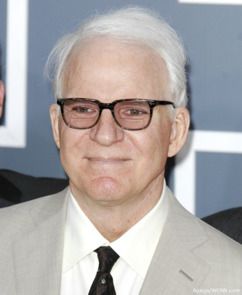 Steve martin becomes a father for the first time