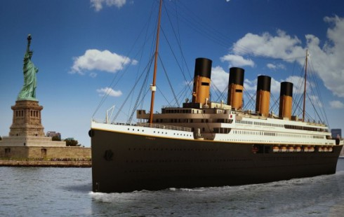 Visual design of Titanic II