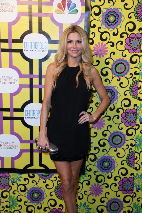 Brandi Glanville attends the Family Equality Council's Awards Dinner at The Globe Theatre in Universal City.