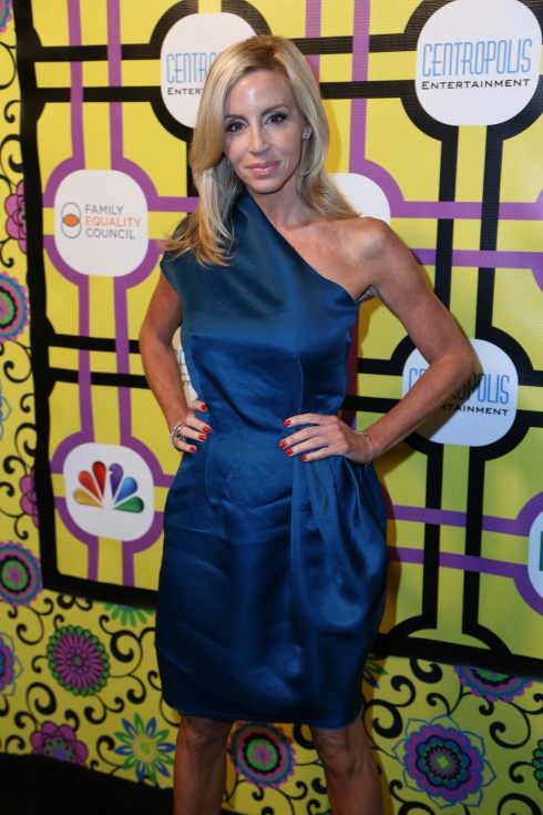 Camile Grammer attends the Family Equality Council's Awards Dinner at The Globe Theatre in Universal City