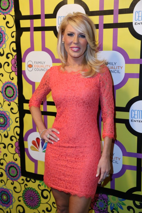 Gretchen Rossi attends the Family Equality Council's Awards Dinner at The Globe Theatre in Universal City.