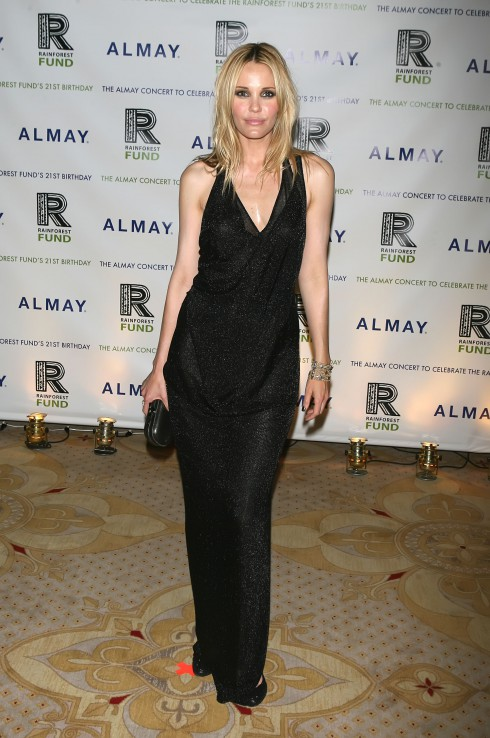 Leslie Bibb attends The Almay Concert to Celebrate the Rainforest Fund's 21st Birthday - Afterparty New York City, USA.