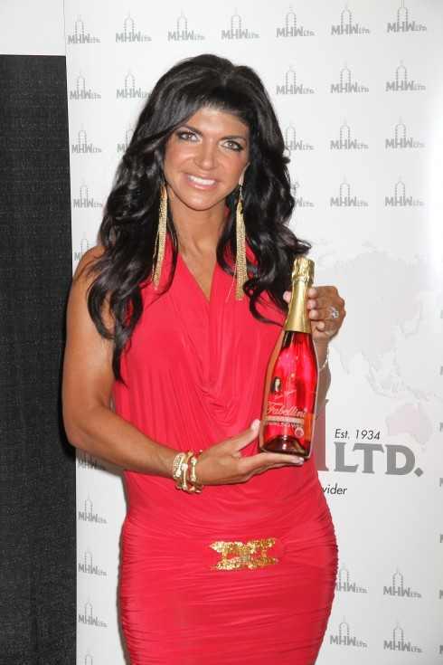Teresa Giudice at the 2012 Nightclub & Bar Convention and Trade Show at the Las Vegas Convention Center in Las Vegas, Nevada.