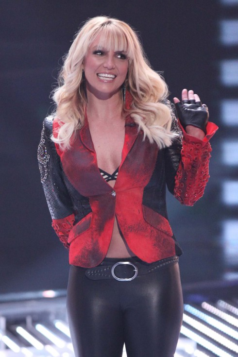 "Britney Spears on FOX's ""The X Factor"" Season 2 Top 13 Live Performance Show in Hollywood. USA"