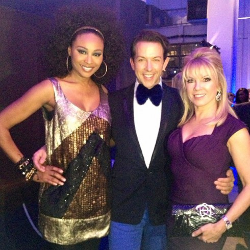 Real Housewives of Atlanta's Cynthia Bailey with Real Housewives of New York's Ramona Singer at The Doe Fund event