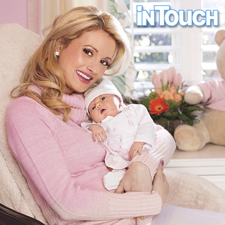The first photo of Holly Madison and baby daughter Rainbow