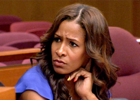 Sheree Whitfield in court on 'Real Housewives of Atlanta'