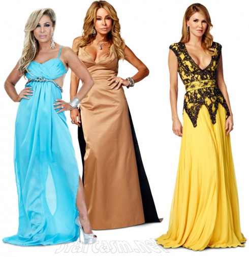 Adrienne Maloof Faye Resnick Brandi Glanville Real Housewives of Beverly Hills