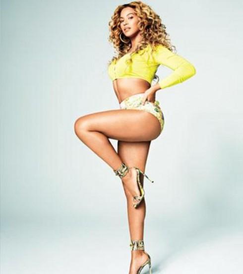Beyonce Shape April 2013