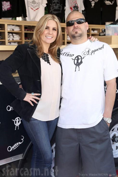 Brandi Passante and Jarrod Schulz