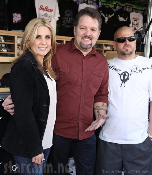 Ghost Hunters' Britt Griffith with Storage Wars' Brandi and Jarrod