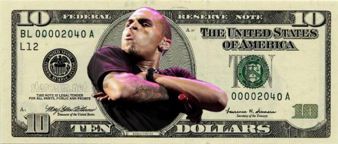 Chris Brown angry at valet over ten dollars
