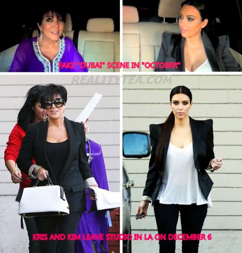 Fake Kardashian Dubai Scene