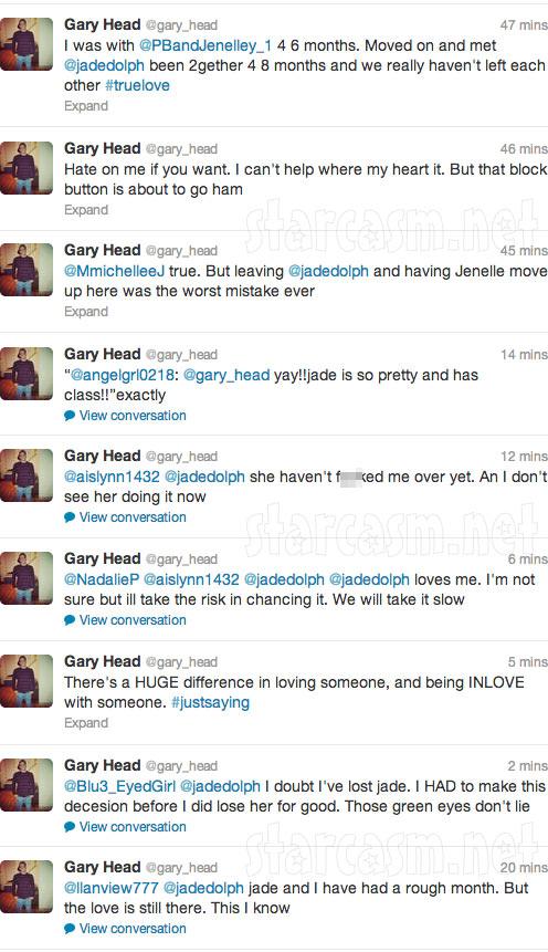 Gary Head breaks up with Jenelle Evans on Twitter