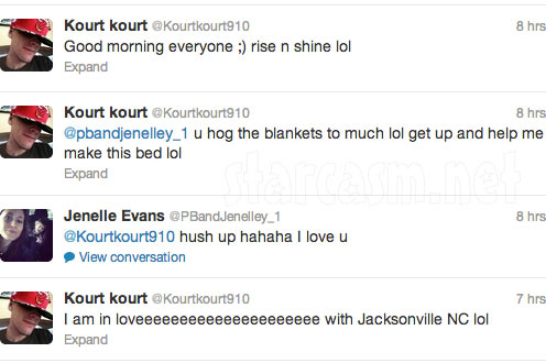 Jenelle and Courtland get back together tweets