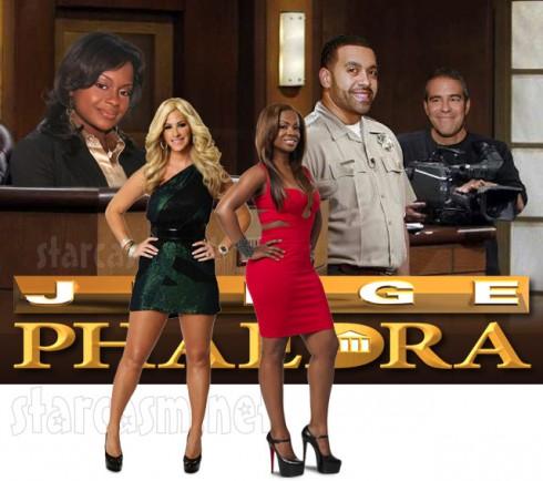 Judge Pahedra Parks Kandi Burruss sues Kim Zolciak over Tardy for the Party