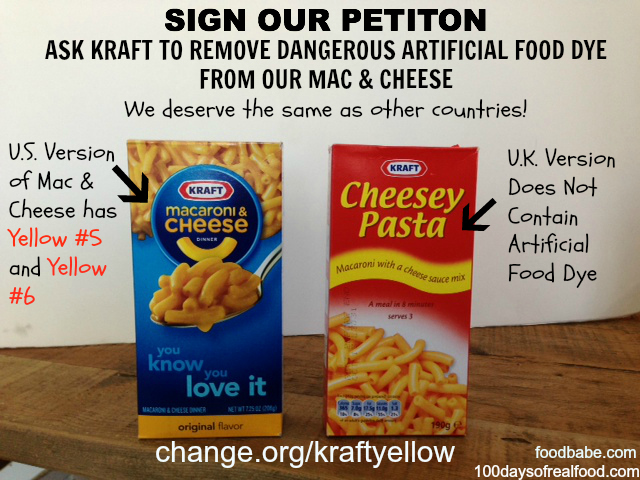 Does Kraft Mac & Cheese cause cancer? Yellow #5 and Yellow #6