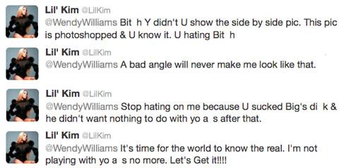 Lil-Kim-Wendy-Williams-tweets